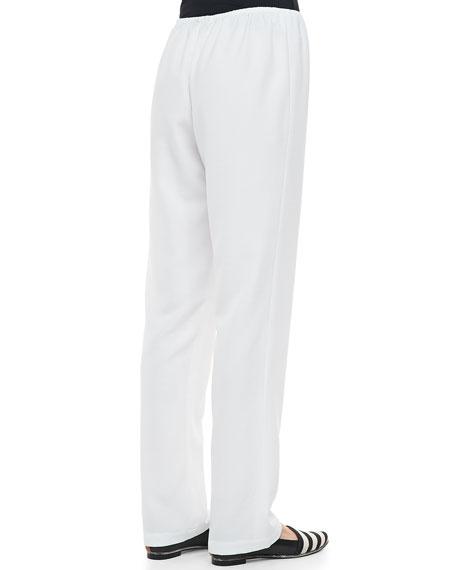 Poly Shantung Pants