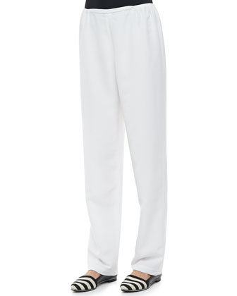 Poly Shantung Pants