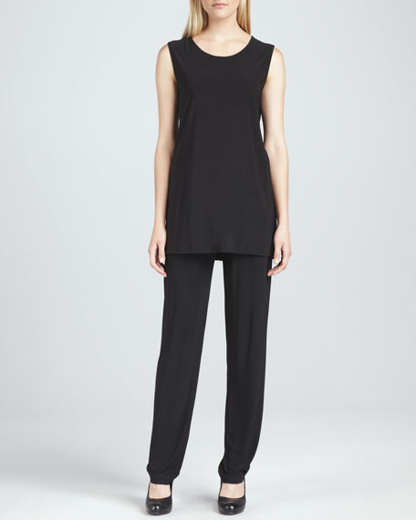 Stretch-Knit Slim Pants, Women's
