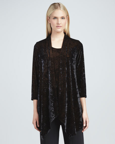 Crushed Velvet Jacket, Women's