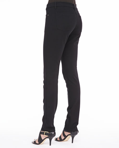 Stretch Ponte Skinny Jeans