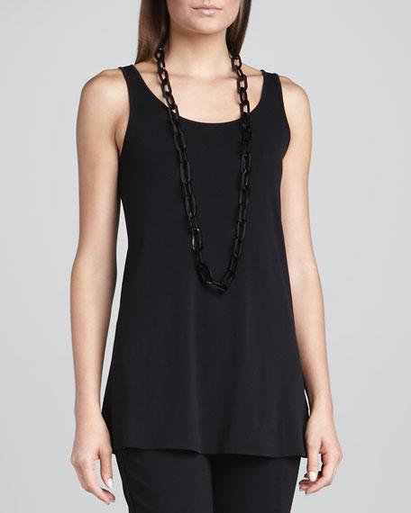 Silk Jersey Long Tunic