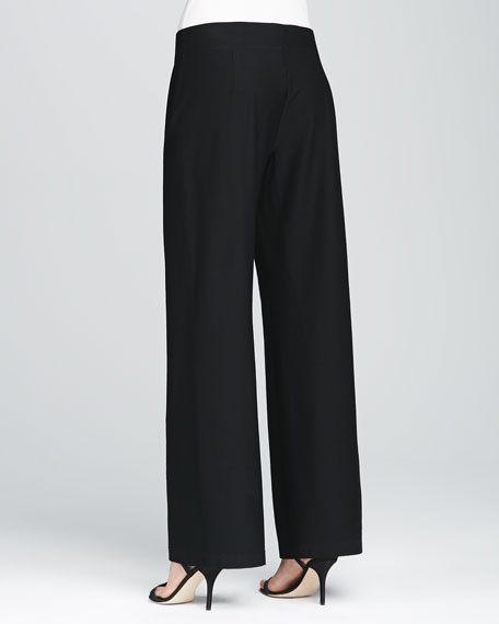 Silk Georgette Crepe Pants