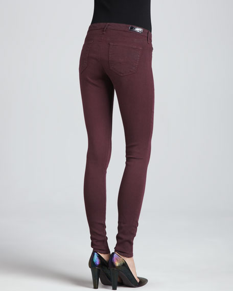 The Absolute Leggings, Coated Vino
