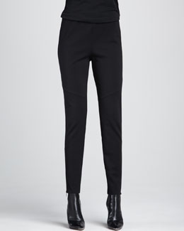 Eileen Fisher Ponte Skinny Ankle Pants