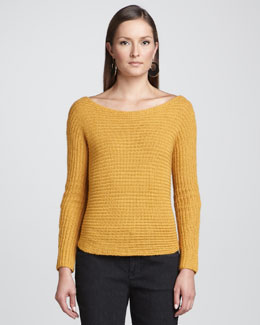 Eileen Fisher Alpaca/Silk Sweater Top, Petite