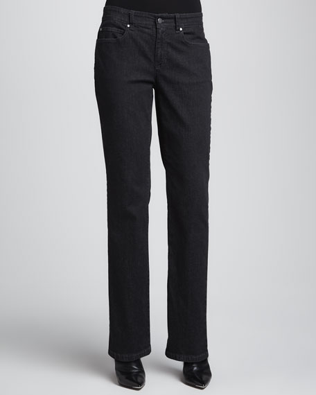 Organic Soft Straight-Leg Jeans