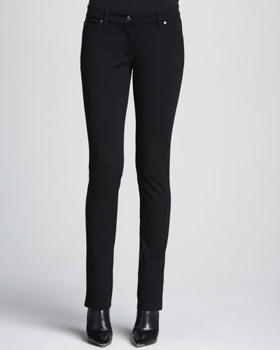 Eileen Fisher Stretch Ponte Skinny Jeans