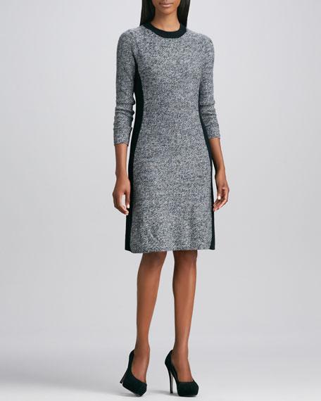 Contour Marled Cashmere Dress