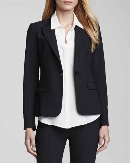 Gabe One-Button Jacket