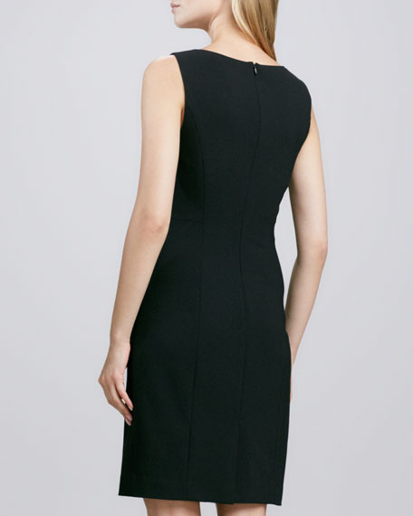 Betty Fitted Sleeveless Dress