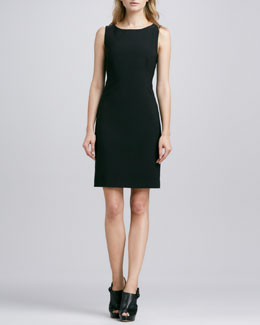 Theory Betty Fitted Sleeveless Dress