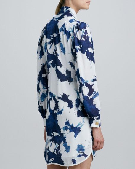 Jabow Long-Sleeve Printed Dress
