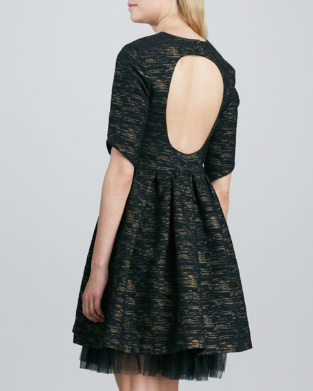 Cap Cana Open-Back Dress