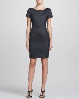 Theory Nuriana Raetia Sheath dress