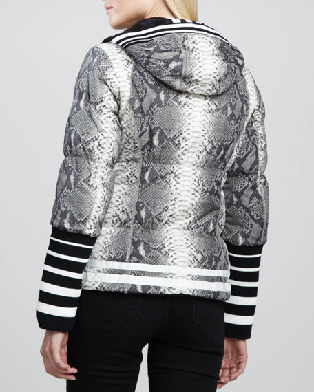 Kesara Reversible Hip-Length Puffer Coat
