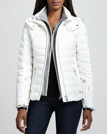 Kylie Two-Layer Puffer Coat