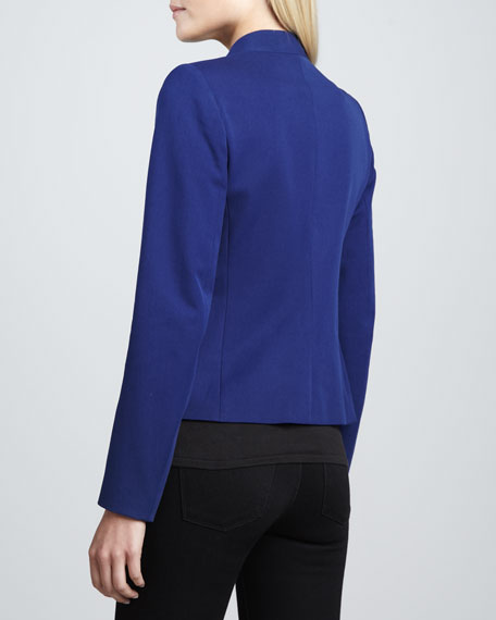 Lanai Basis Open Blazer, Bright Blue