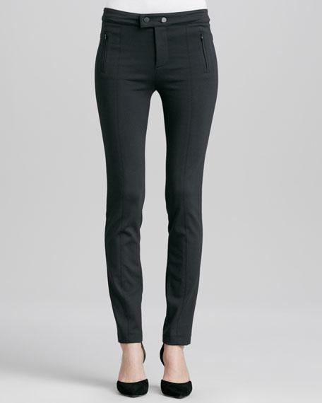 Stretch Ski Pants, Charcoal