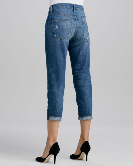 Many Winter Wrecked Boyfriend Jeans