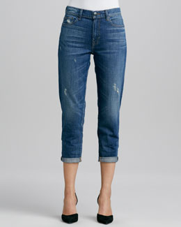 Vince Many Winter Wrecked Boyfriend Jeans