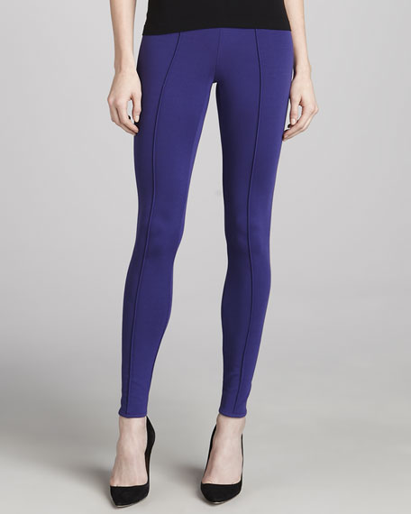 Kiestan Classic Leggings, Deep Purple