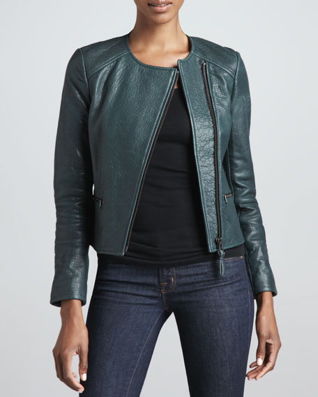 Dorothy Leather Moto Jacket