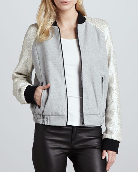 Ask Me Anything Bomber Jacket