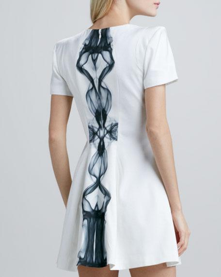 Star of Wonder Puff-Sleeve Dress