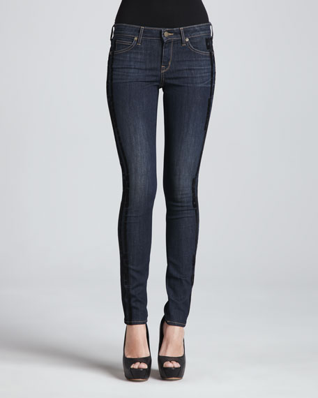 The Skinny Jeans, Indigo Stacked