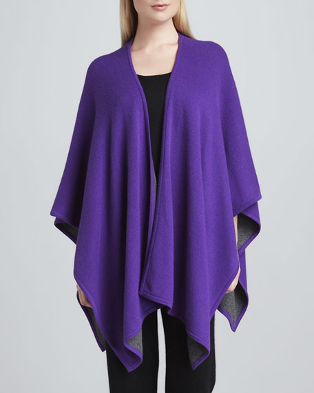 Cashmere Two-Tone Shawl