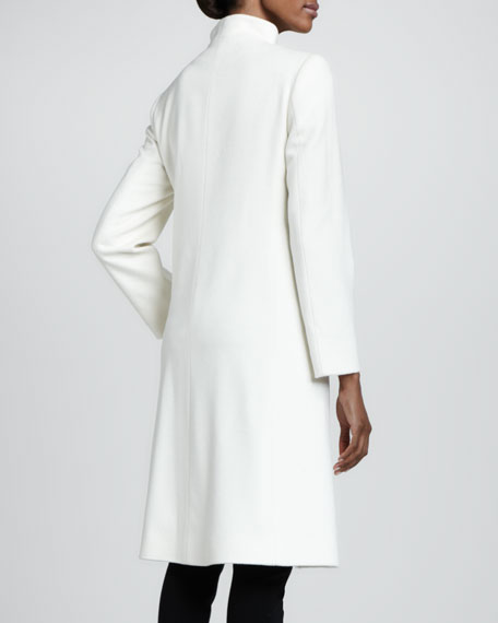 Loro Piana Wool Mock-Neck Coat