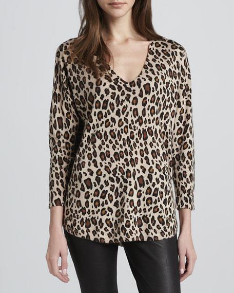 Chyanne Leopard-Print Sweater