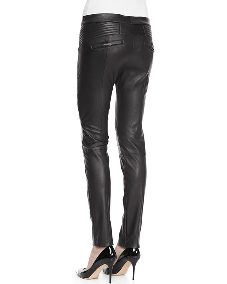 Cannova Leather Motorcycle Pants
