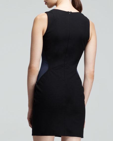 Cara Two-Tone Illusion Dress