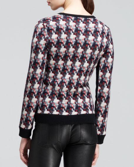 Mariah Printed Pullover Sweater