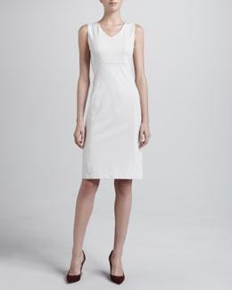 Armani Collezioni Sleeveless Milano Jersey Dress