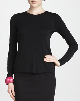 Eileen Fisher Crewneck Tee, Women's