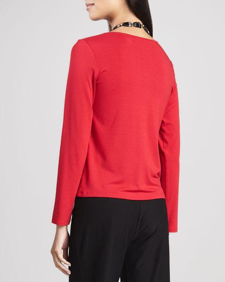 Jersey Long-Sleeve Tee, Women's