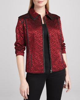 Berek Festive & Wild Jacquard Jacket, Women's