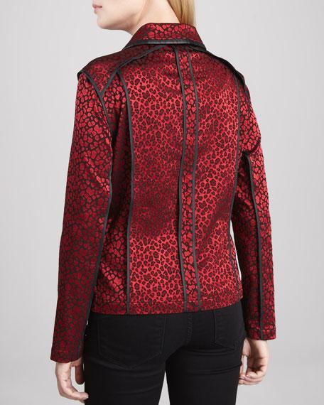 Festive & Wild Jacquard Jacket
