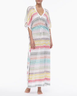 Missoni Long Drawstring-Waist Dress