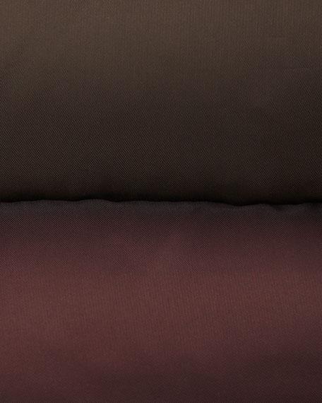Harlow Fur-Trim Puffer Coat with Belt