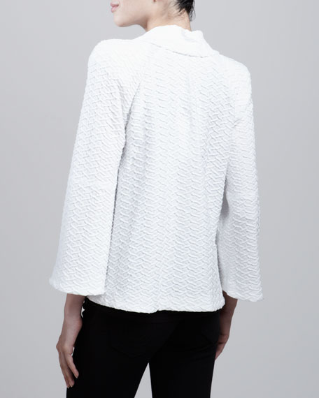 Jacket Textured Boxy Jacket