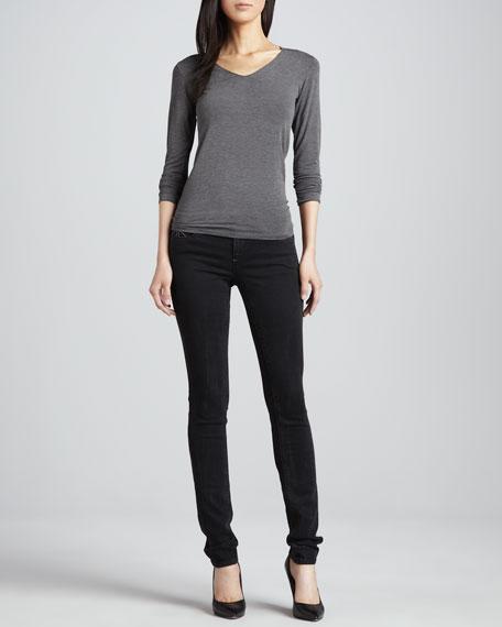 Alice Glory Pocket Skinny Jeans, Mystery