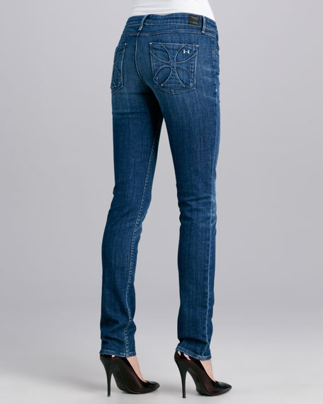 Alice Glory Pocket Skinny Jeans, Dark Rustic