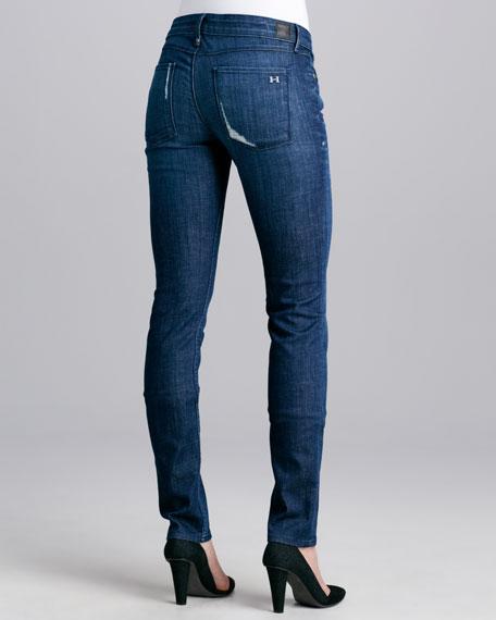 Alice Distressed Skinny Jeans, Sugar