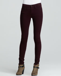 rag & bone/JEAN The Legging Jeans, Mulberry