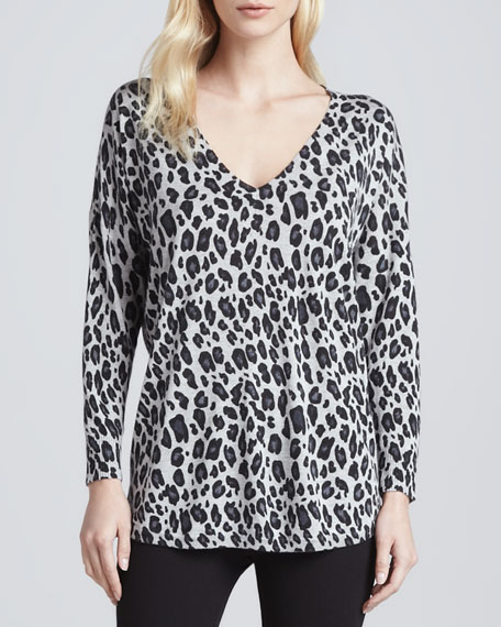 Chyanna Leopard-Print Top