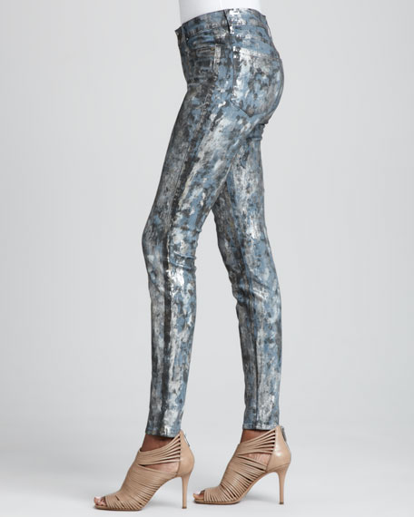 Joy Leggings with Paint Splat